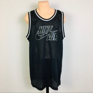 Nike Men's XL Basketball Tan Top Jersey